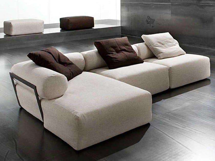 Sectional sofa ALTROVE by ERBA ITALIA