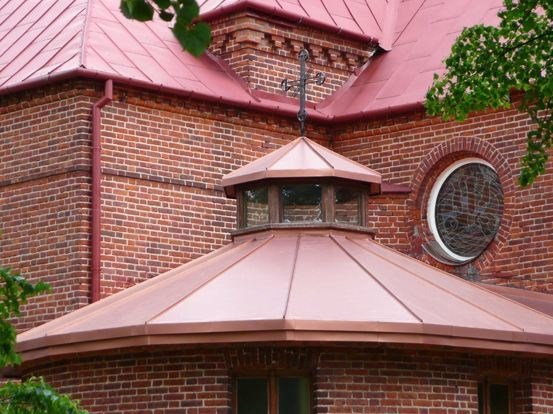 Composite panel for roof Copper Art® by FLAG