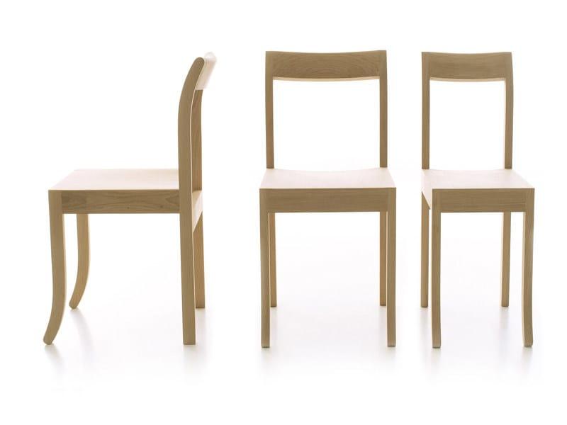 Oak chair JIM & SLIM by ESTEL GROUP