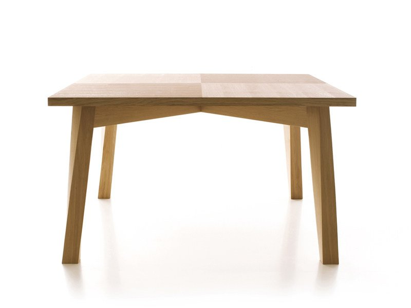 Solid wood table BACCO FISSO by ESTEL GROUP