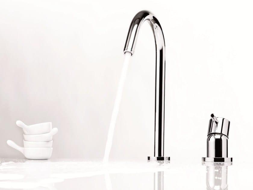 2 hole countertop washbasin mixer DIAMETRO35 | Countertop washbasin mixer by RITMONIO