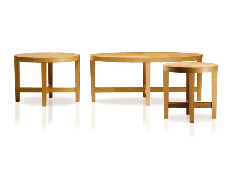 Solid wood coffee table GIOSTRA by ESTEL GROUP