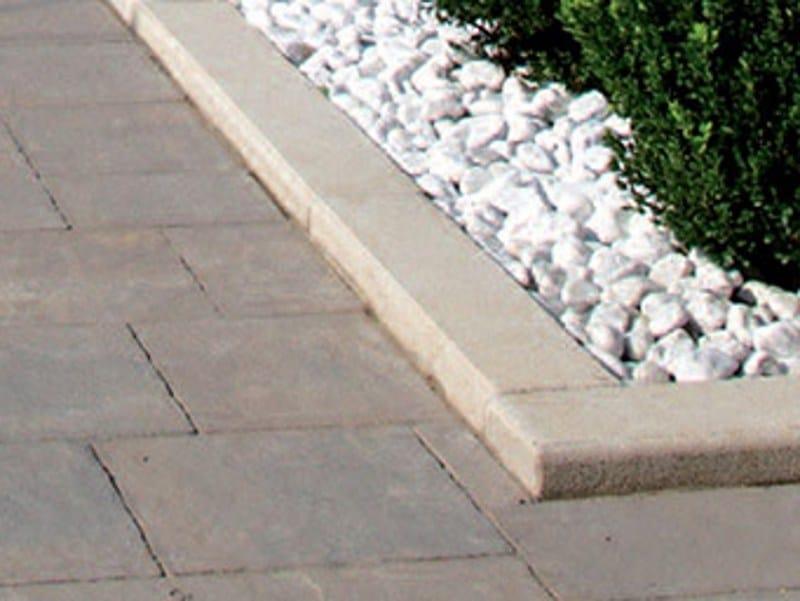 Bordura per aiuole in pietra cordonata pietra favaro1