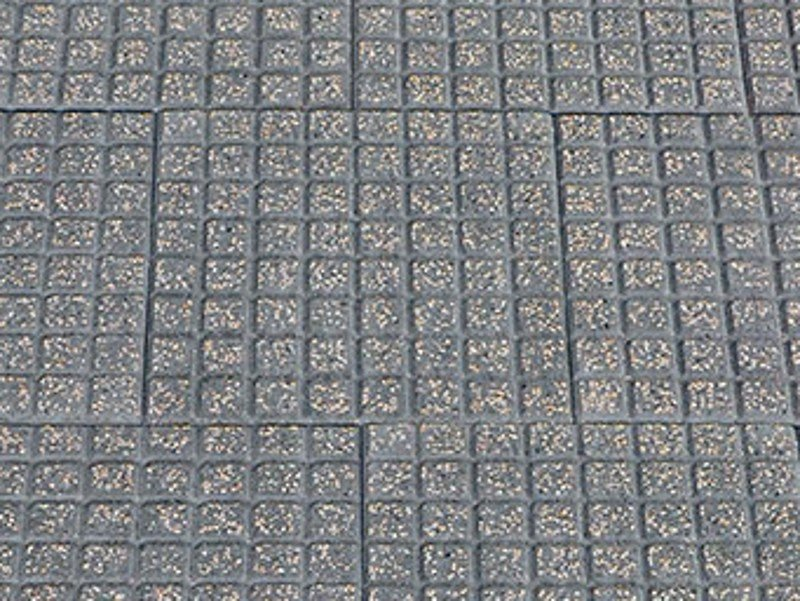 Cement outdoor floor tiles CUBETTO by FAVARO1