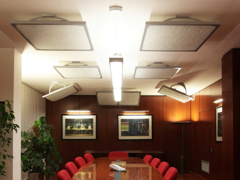 Stratocell whisper acoustic ceiling clouds FONOSTILE® by GRUPPO SOGIMI