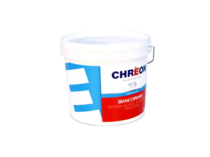Breathable water-based paint BIANCOFRAMA by Chrèon Lechler