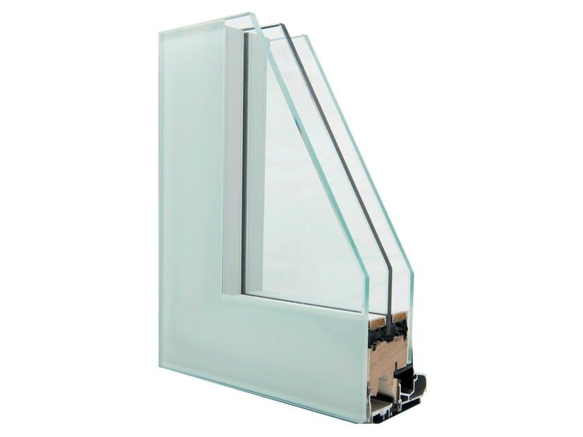 Flush-with-wall window GHOST by Italserramenti
