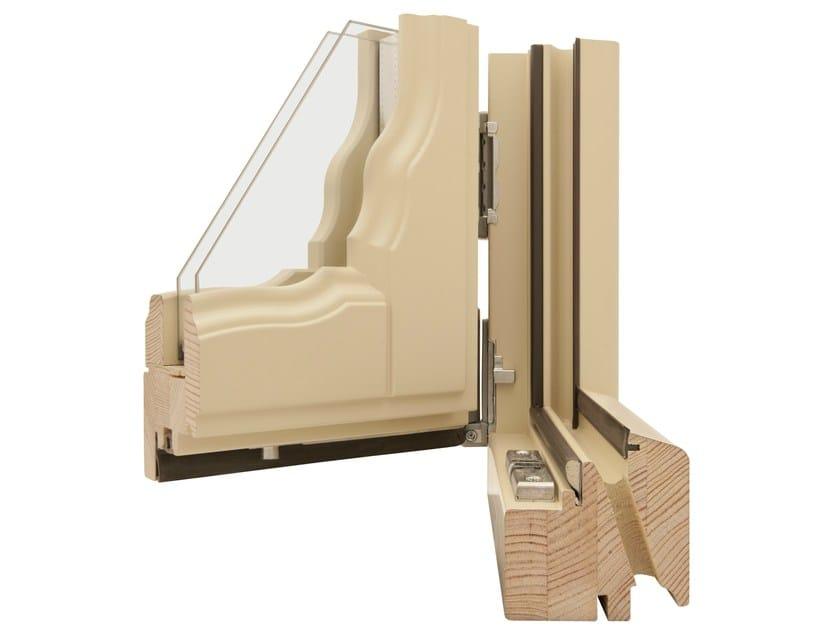 Wooden double glazed window CHOPIN by Italserramenti