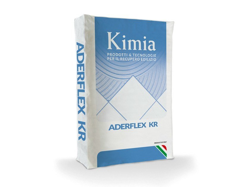 Cement adhesive for flooring ADERFLEX KR by Kimia