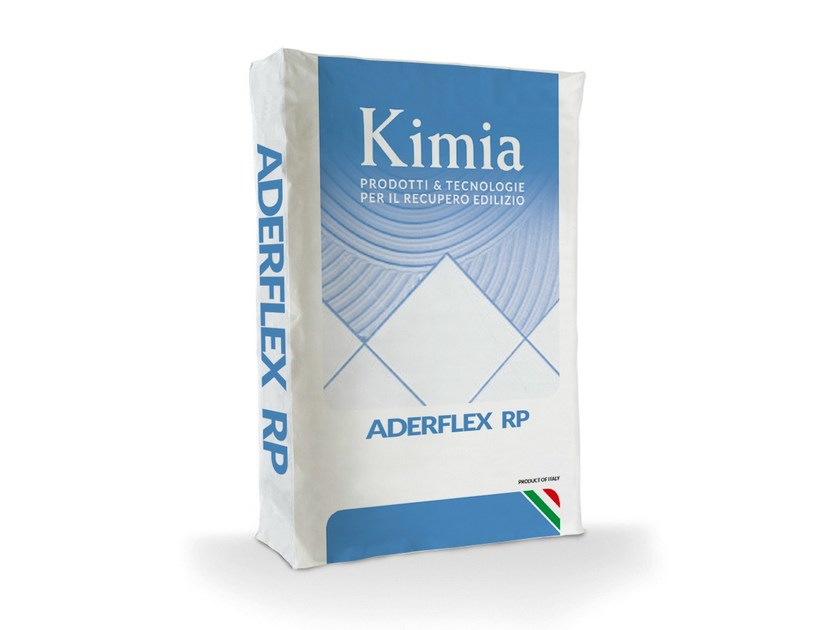 Cement adhesive for flooring ADERFLEX RP by Kimia