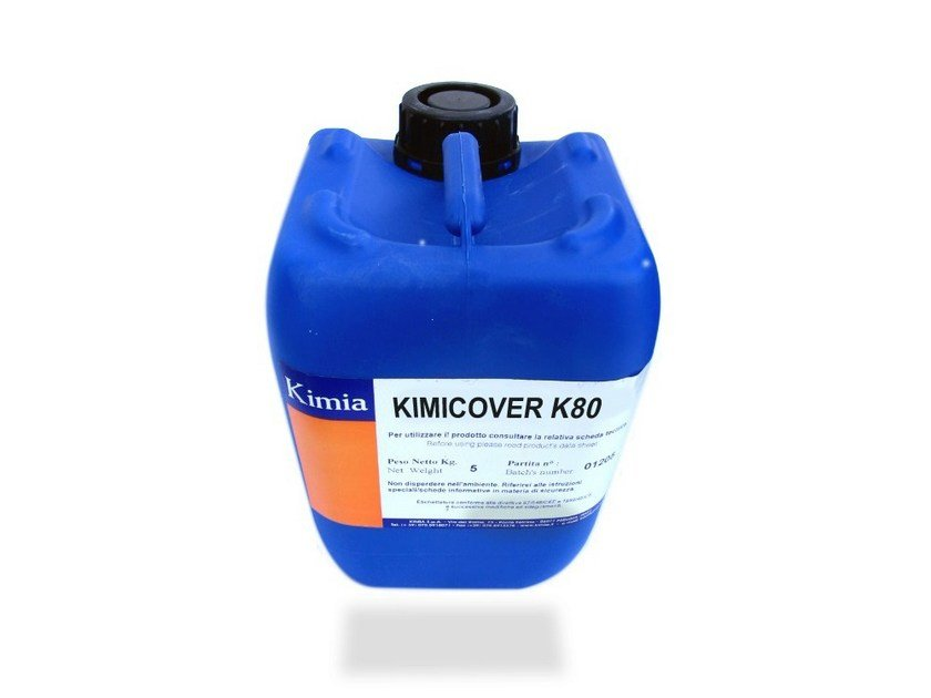 Asbestos encapsulation treatment and product KIMICOVER K80 by Kimia