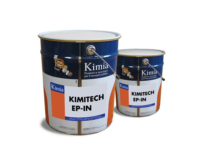 Consolidation of floor slab and timber structure KIMITECH EP-IN by Kimia