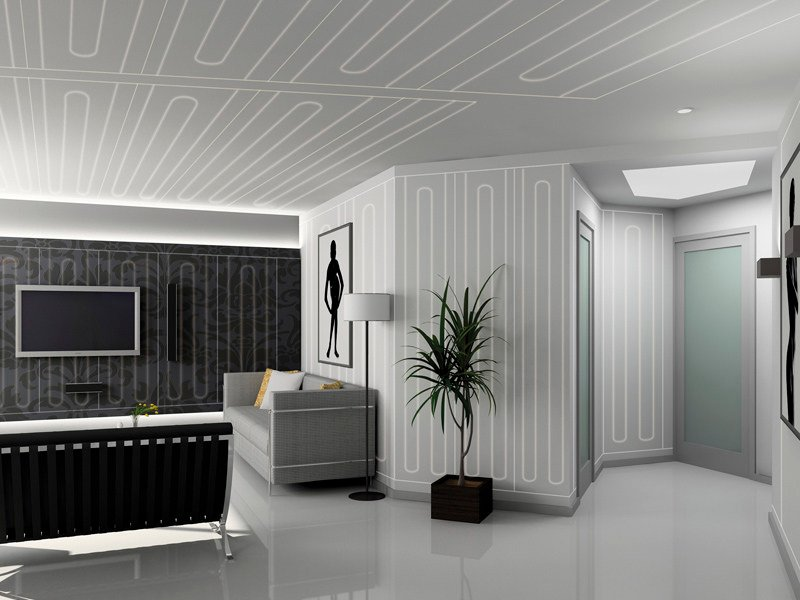 Radiant wall panel / Radiant ceiling panel B!KLIMAX by RDZ