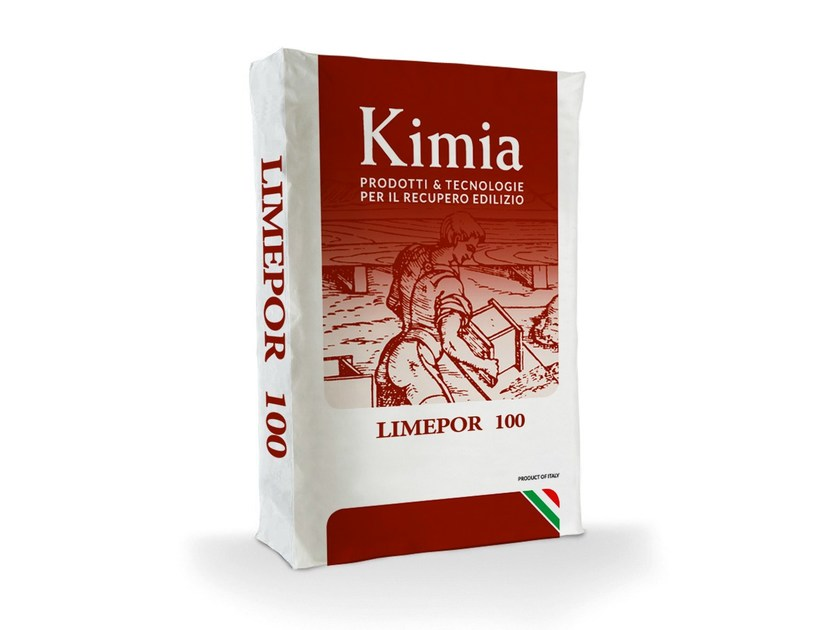 Hydrated and hydraulic lime LIMEPOR 100 by Kimia