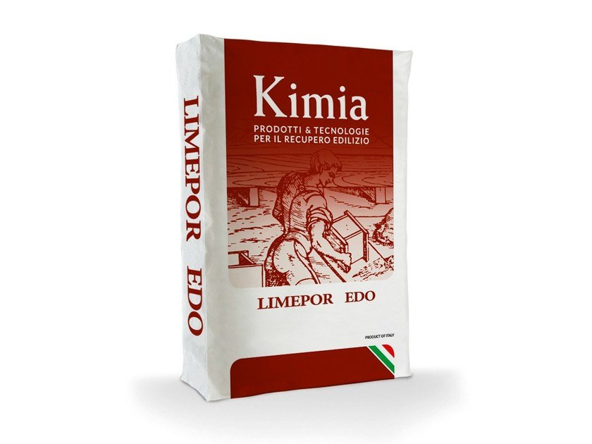 Skim coat and cementitious finish for plaster LIMEPOR EDO by Kimia