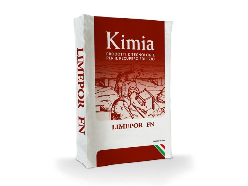 Skim coat and cementitious finish for plaster LIMEPOR FN by Kimia