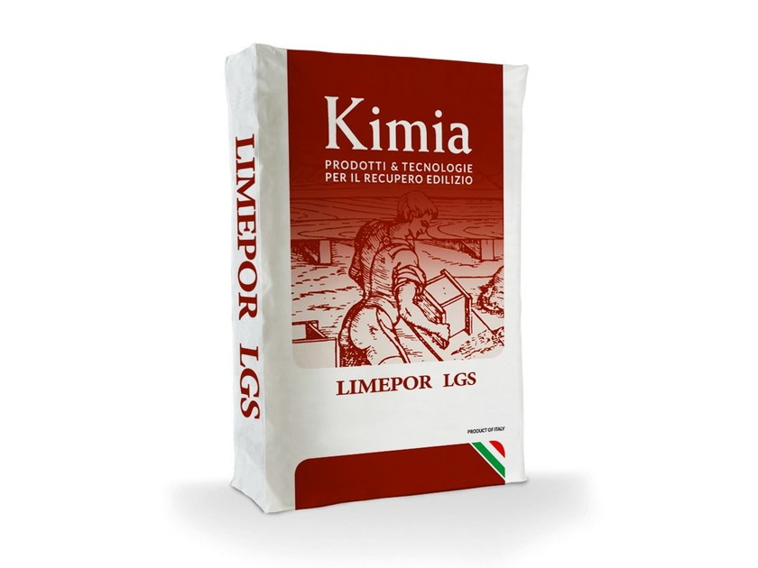 Fibre reinforced mortar LIMEPOR LGS by Kimia