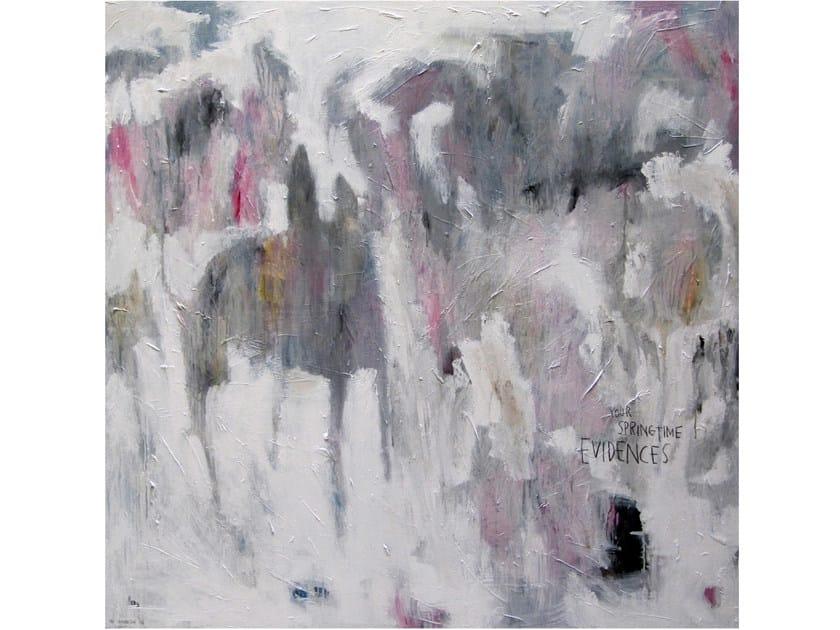 Acrylic on canvas EVIDENCES by ICI ET LÀ