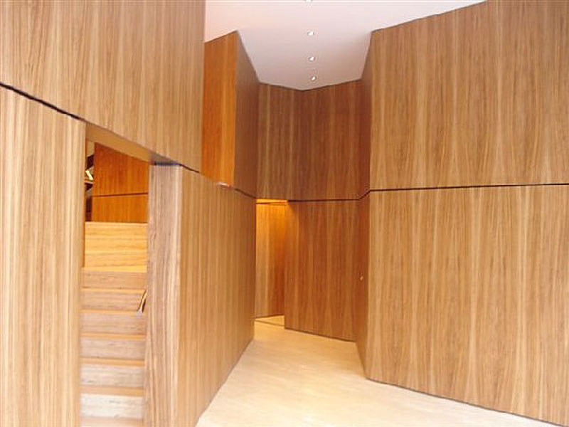 Indoor wood veneer wall/floor tiles PARKLEX INTERNI & SKIN by Kalikos