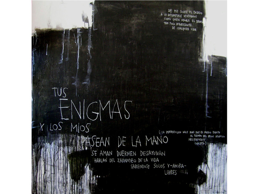 Acrylic on canvas TUS ENIGMAS by ICI ET LÀ