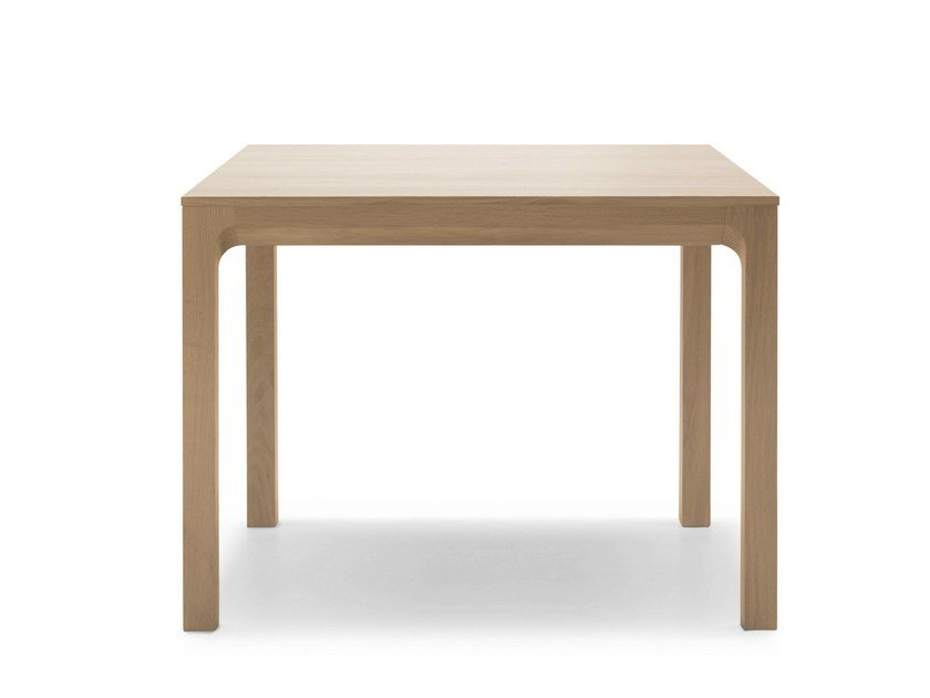 Square oak table LAIA | Square table by ALKI