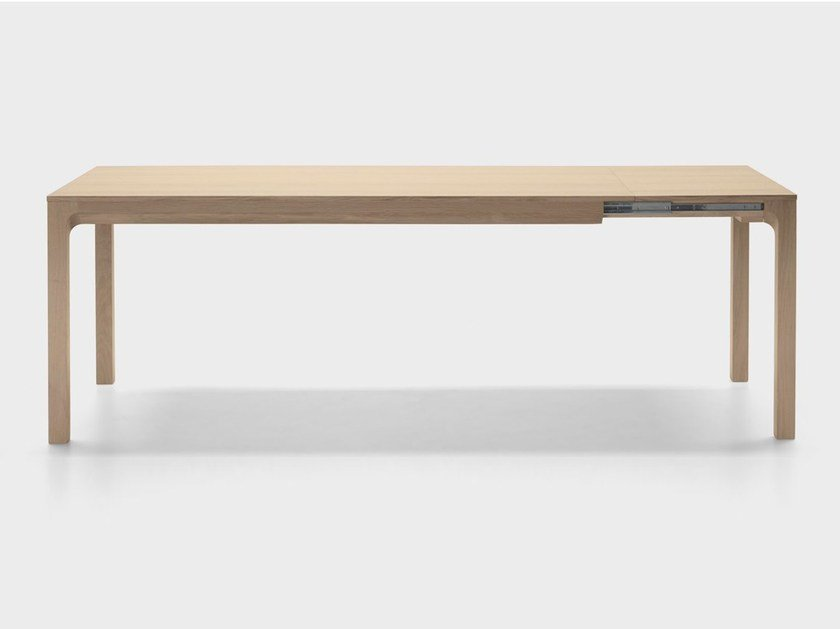 Extending rectangular oak table LAIA | Extending table by ALKI