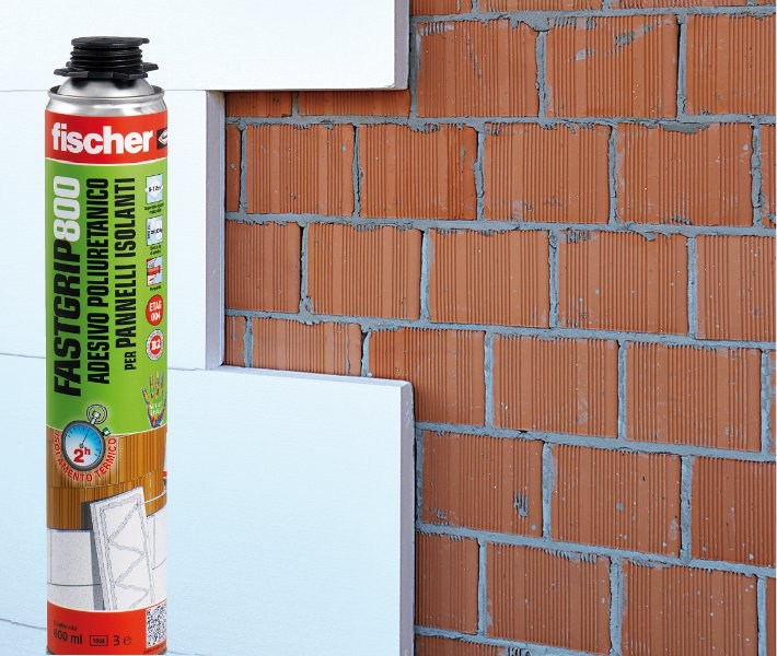 Special fixing for insulation Fischer FASTGRIP 800 by fischer italia