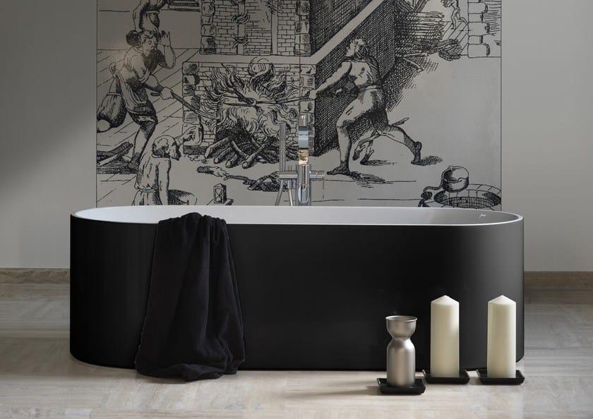 Vasca Da Bagno Flaminia Prezzi : Vasca da bagno ovale in pietraluce® oval by ceramica flaminia