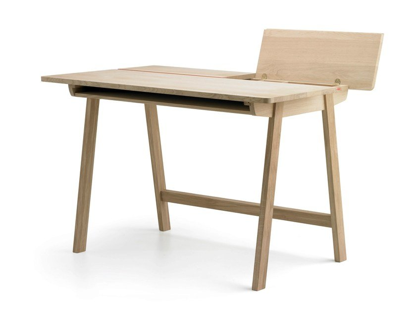 Oak writing desk LANDA | Writing desk by ALKI