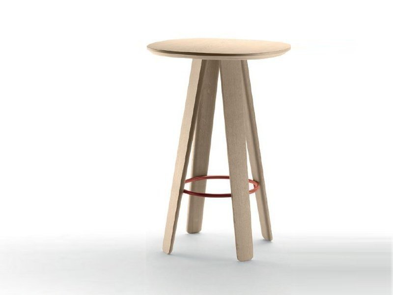 Oak high table TRIKU | High table by ALKI