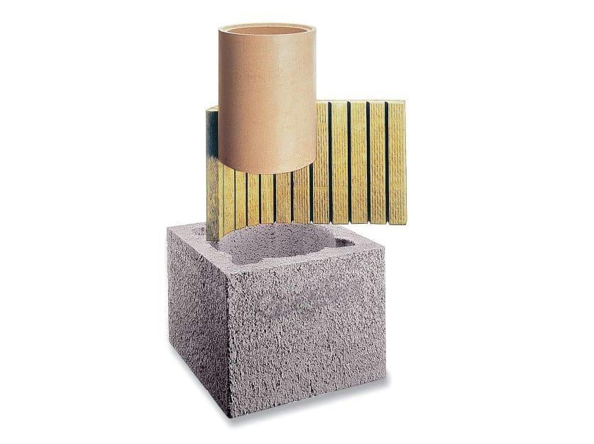 Refractory ceramic flue SIH TONDO ST EXTRA by Schiedel