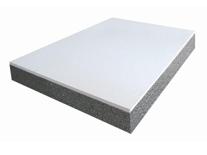 Thermal insulation panel LEUCOS CG EPS GRAFITE by S.T.S. POLISTIROLI