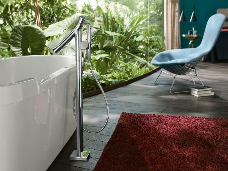 Floor standing bathtub mixer AXOR STARCK ORGANIC | Floor standing bathtub mixer by hansgrohe