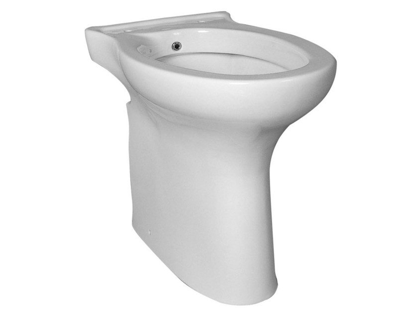 Rossari Toilet For Disabled With Bidet By Ponte Giulio