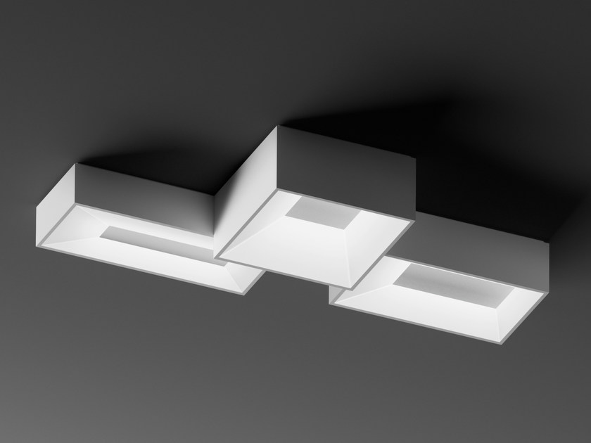 Modular ceiling lamp LINK by Vibia
