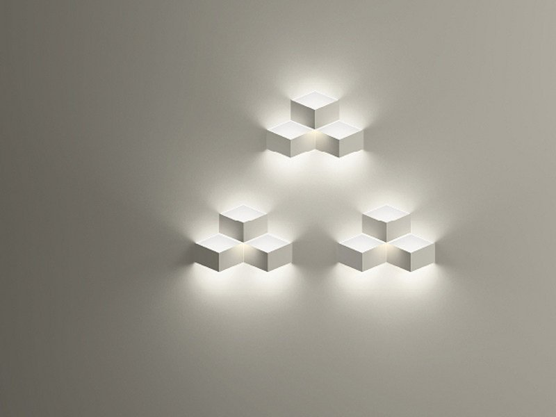 LED wall light FOLD BUILT-IN by Vibia