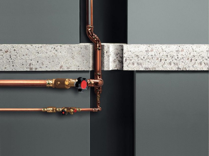 Pipe and special part for water network SMARTLOOP INLINER by Viega Italia