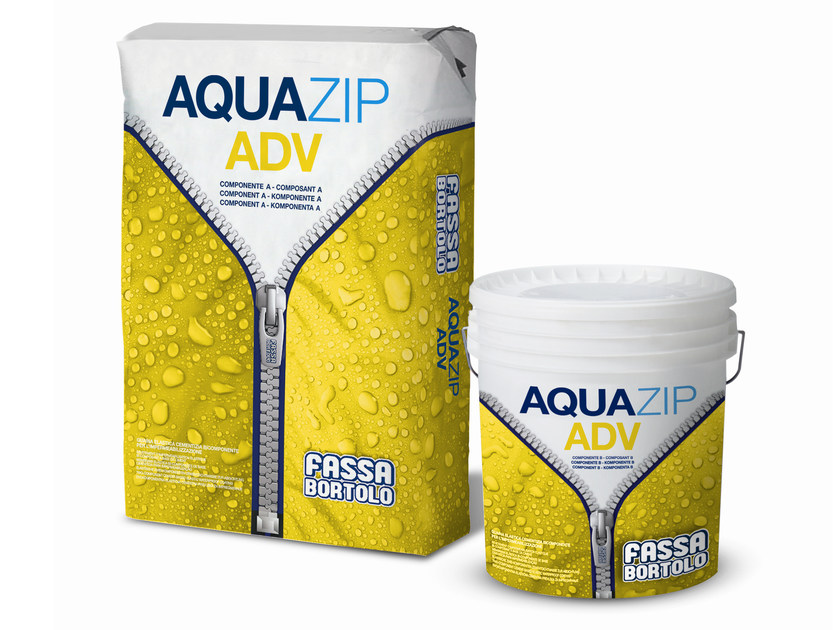 Cement-based waterproofing coating AQUAZIP® ADV by FASSA