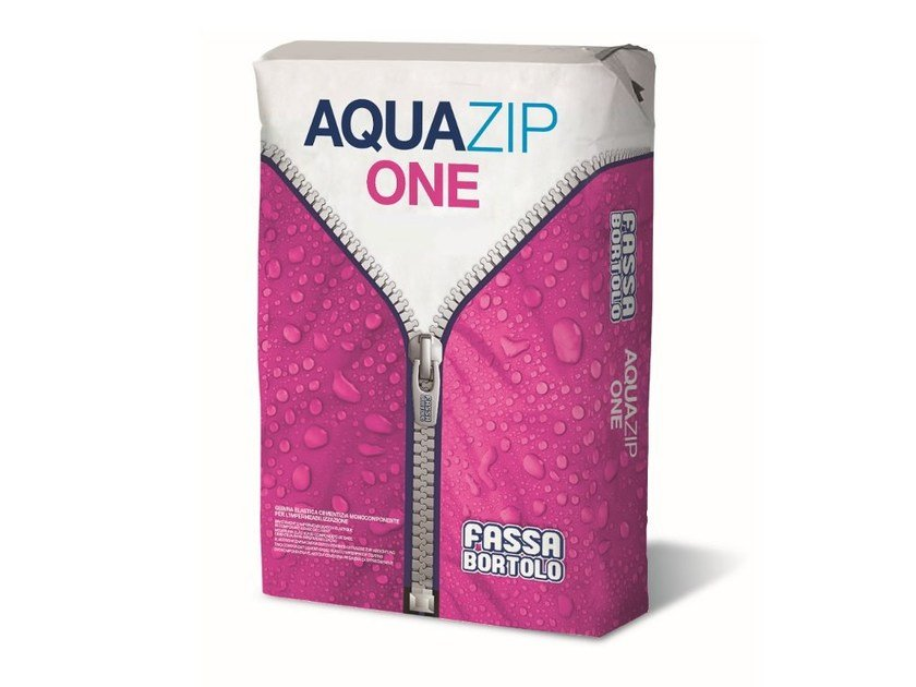 Cement-based waterproofing coating AQUAZIP® ONE by FASSA
