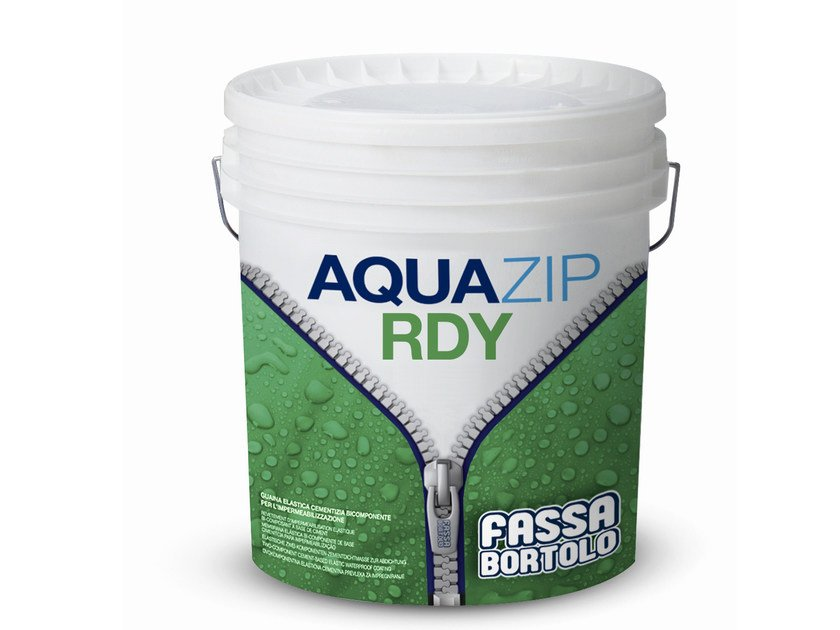 Cement-based waterproofing coating AQUAZIP® RDY by FASSA