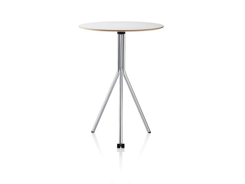 Drop-leaf table with casters CROSS.FLIP by Brunner