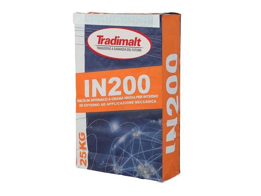 Cement plaster IN 200 by TRADIMALT