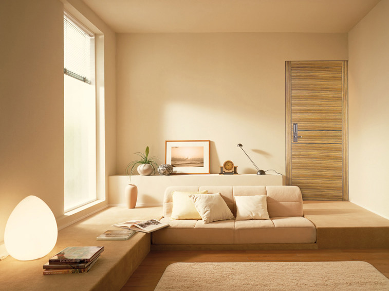 Flush-fitting fire-rated door ISOFIRE® EI FM by Sanco