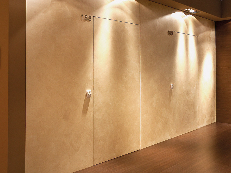 Flush-fitting fire-rated door ISOFIRE® EI RM by Sanco