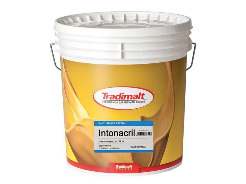 Plastic paint INTONACRIL by TRADIMALT