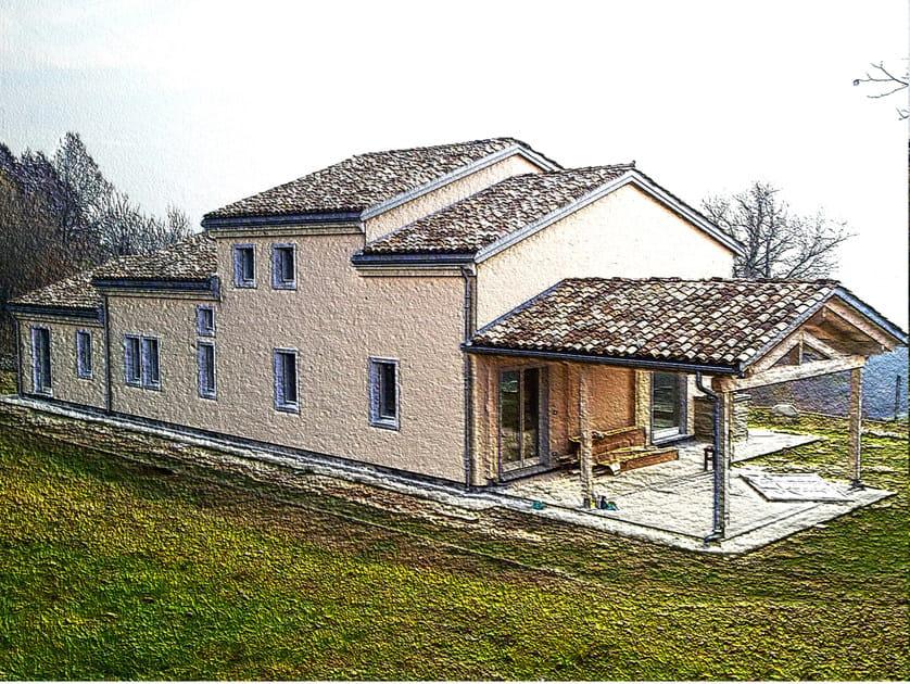 Casa in legno sistema xlam galloppini legnami for Case legno xlam