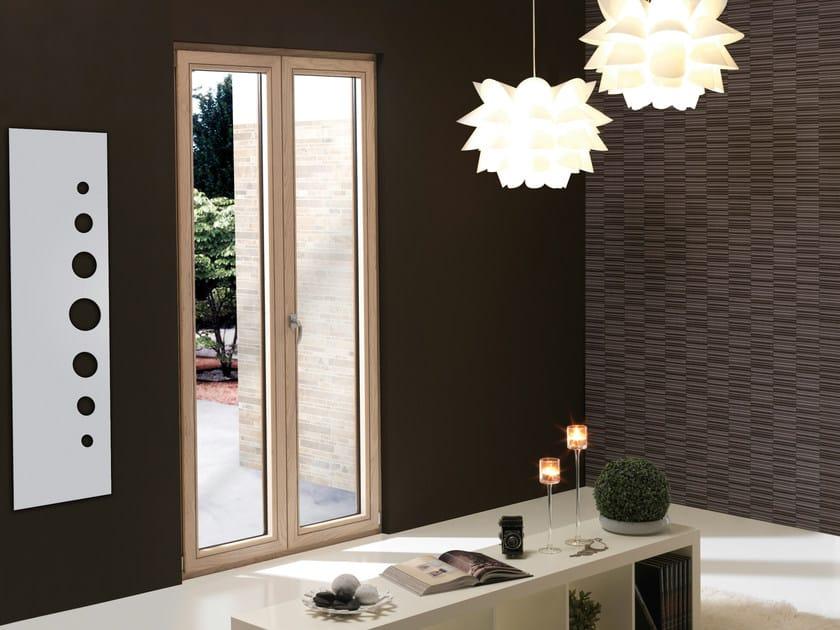 Wood-PVC window ESTROSA SISTEM by Schulz Italia