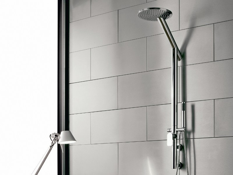 Shower panel with hand shower SENTO   Shower panel by Graff Europe West