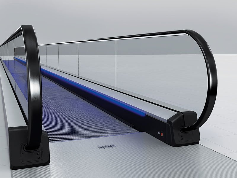 Horizontal moving walkway KONE TRANSITMASTER™ 165 by KONE