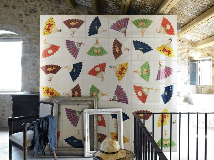 Double-fired ceramic wall tiles VENTAGLI by Ceramica Bardelli